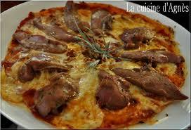 cuisiner aiguillettes de canard pizza aux aiguillettes de canard la cuisine d agnèsla cuisine d