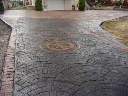 Pictures Of Stamped Concrete Walkways by Patio Pavers Vs Stamped Concrete U2013 R U0026a Water Features And Landscaping
