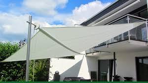 sonnensegel befestigung balkon sonnensegel aufrollbar der exklusive sonnenschutz pina design