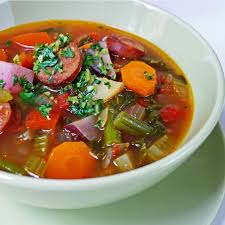 hearty vegetable soup with sausage minus the sausage hah soup