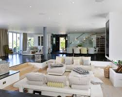 Designing A Media Room - sunken living room houzz