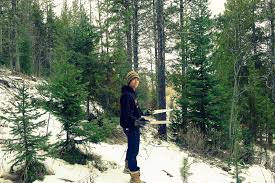 mountain living adventures cutting down our own christmas tree