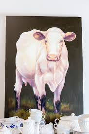 Cow Home Decor I This Pretty Such A Cow Print For Any Home