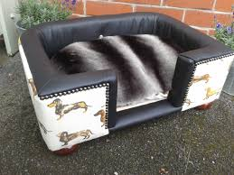 leather dog bed dog furniture small dog bed sofa dog bed pink