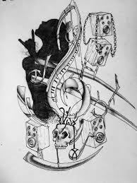 todds tattoo urban music by massmurdurah on deviantart