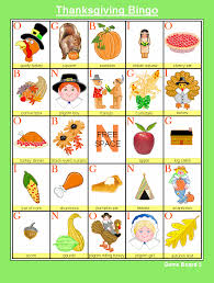 free thanksgiving bingo at kid scraps