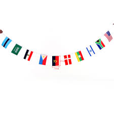 Olimpics Flag 2016 Olympics 100 Countries World String Flag Hanging Flag Banner