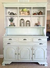 How To Paint Wood Furniture by How To Paint And Distress A Wood Hutch Sobremesa Stories