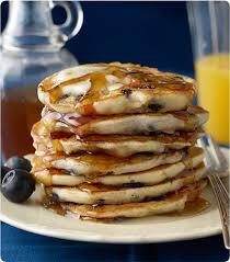 blueberry pancakes mixes krusteaz