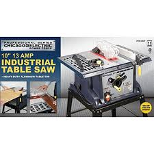 heavy duty table saw for sale 10 in 13 amp benchtop table saw usatm by chicago electric power
