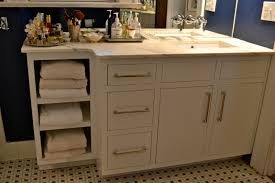 painted bathroom cabinets before and after bathroom cabinets