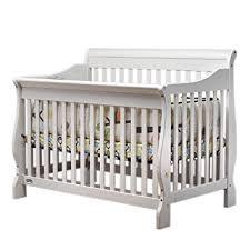 Sleigh Crib Convertible Orbelle Sleigh Crib White Baby