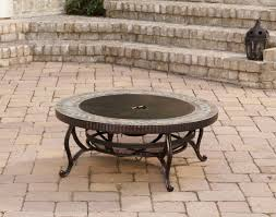 Slate Top Patio Table by Pleasant Hearth Outdoor Natural Slate Wood Burning Fire Pit