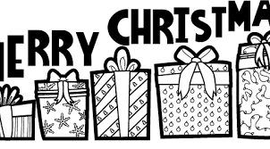 merry christmas coloring pages print pictures colour