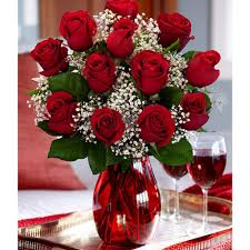 Forever Rose In Glass Dome One Dozen Red Roses With Free Glass Vase Flowers Price 29 99