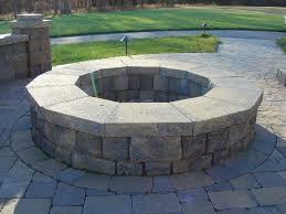 Firepit Bricks Circular Pit