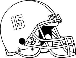 bama alabama helmet fifteen number coloring page wecoloringpage