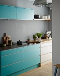 compliment greys with bright colours pure kitchen from john