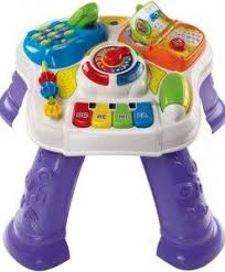 sit to stand activity table vtech sit to stand learn discover table learning toys baby