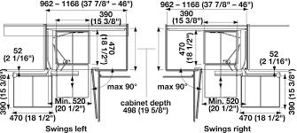 how to measure corner cabinets magic corner ii for blind corner cabinets in the häfele