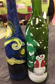 Wine Bottles With Lights The Canvas Roadshow Wine Bottles With Lights