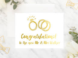 congratulations on wedding card wedding card congratulations to the new mr mrs peppa