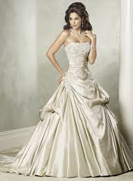 a line princess strapless court train taffeta wedding dress with