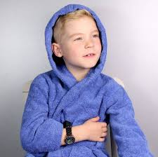 personalised childrens hooded dressing gown by duncan stewart