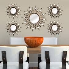 Wall Art Images Home Decor Home Decor Sunburst Mirror Metal Wall Art 5 Piece Set