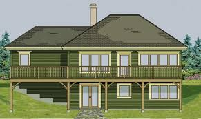 walk out basement home plans 20 artistic small house plans with walkout basement home building