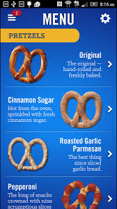 auntie anne u0027s pretzel perks android apps on google play