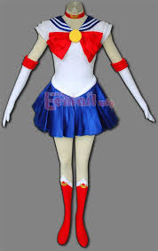 sailor moon usagi tsukino costume with gloves