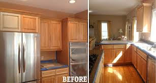kitchen remodeling ideas before and after kitchen remodeling painted oak cabinets before and after