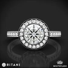 ritani engagement rings ritani 1rz1694 endless halo engagement ring 2039