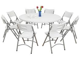 Folding Bistro Table And Chairs Set Round Folding Card Table And Chairs Round Designs