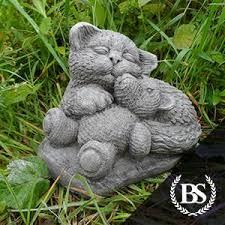 cat garden ornaments tagged teddy brightstone garden