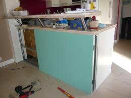 bar comptoir cuisine cuisine construire un ptoir de cuisine conception de maison
