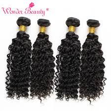 wavy hair extensions peerless indian human curly wavy hair 4 bundles deal