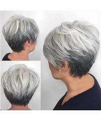 resultado de imagen de short haircuts for women over 50 back view