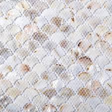 Mother Of Pearl Tiles Bathroom Tst Freshwater Shell Slice Tiles Natural Shell White Interlocking