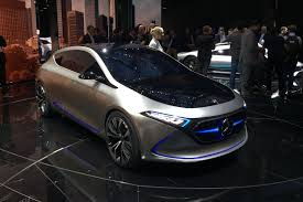 concept mercedes mercedes concept eqa dinky ev concept shown at frankfurt 2017 by