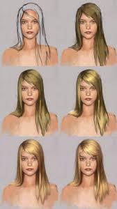 digital painting tutorial painting hair