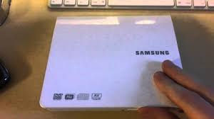 samsung se 208ab external dvd writer for mac pc review hd youtube