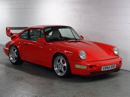 used porsche 911 uk porsche 911 3 6 964 4 awd 2dr for sale