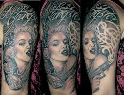 marilyn monroe tattoo by james danger harvey marilyn monroe