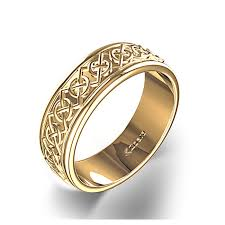 celtic knot ring celtic knot wedding ring in 14k yellow gold
