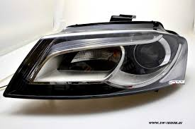 audi headlights sw drl headlights for audi a3 8p facelift 08 12 led drl r87 black