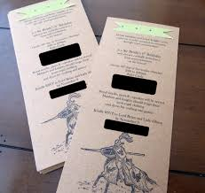 medieval times invitation wording