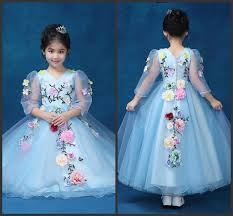 kids wedding dresses baby girl dress kids children girl wedding party