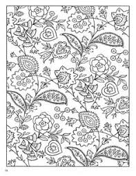 coloring book pages designs from creative haven crazy paisley coloring book by dover